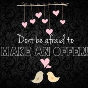 Other - Reasonable offers will be accepted 💖